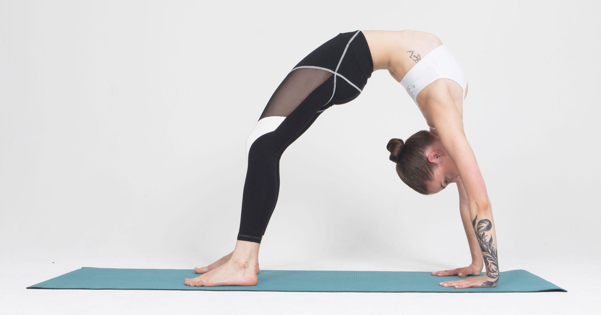 Chytré legíny, které vám pomohou ke správné jógové pozici