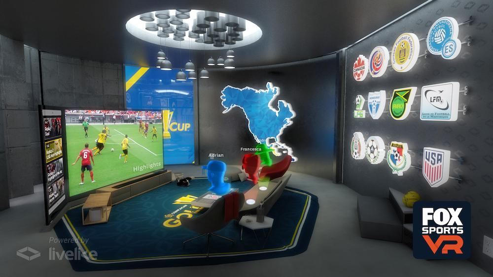 Sledujte s přáteli sportovní utkání ve virtuálním apartmánu