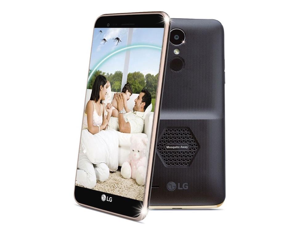 Chytrý telefon LG dokáže odpuzovat komáry pomocí ultrazvukových vln
