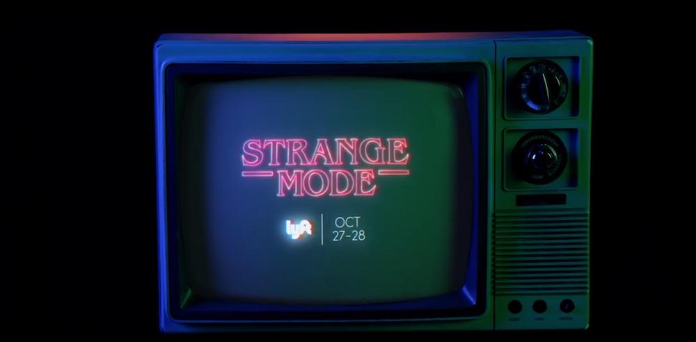 Netflix nabízel strašidelnou jízdu v rámci propagace seriálu Stranger Things