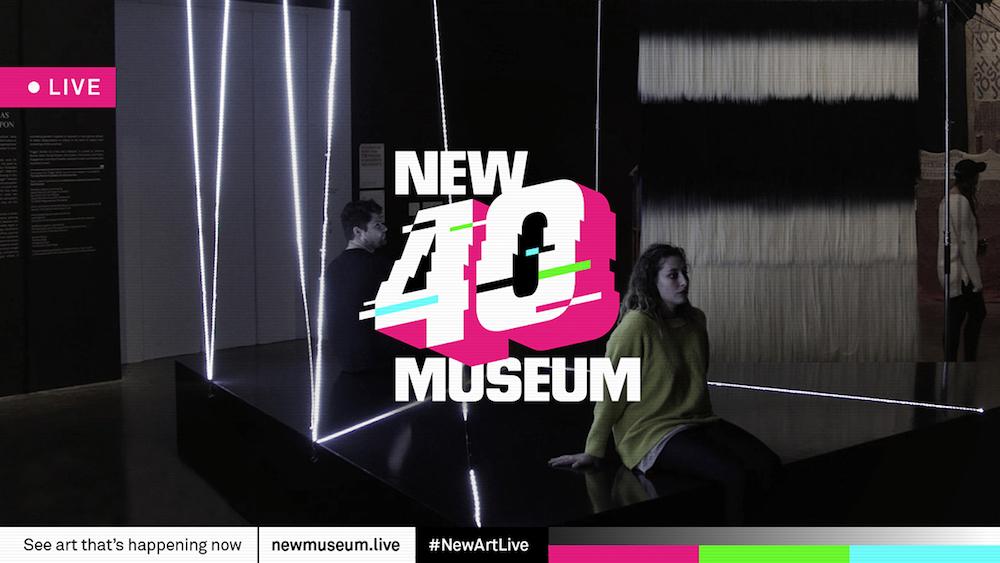 New Museum v New Yorku slaví své 40. výročí živým přenosem z výstav