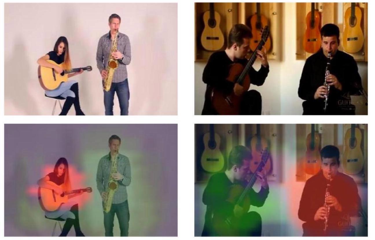 Software PixelPlayer dokáže izolovat jednotlivé hudební nástroje ve videu