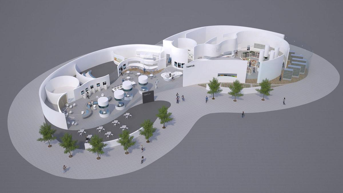 Evvo představilo koncept supermarketu budoucnosti