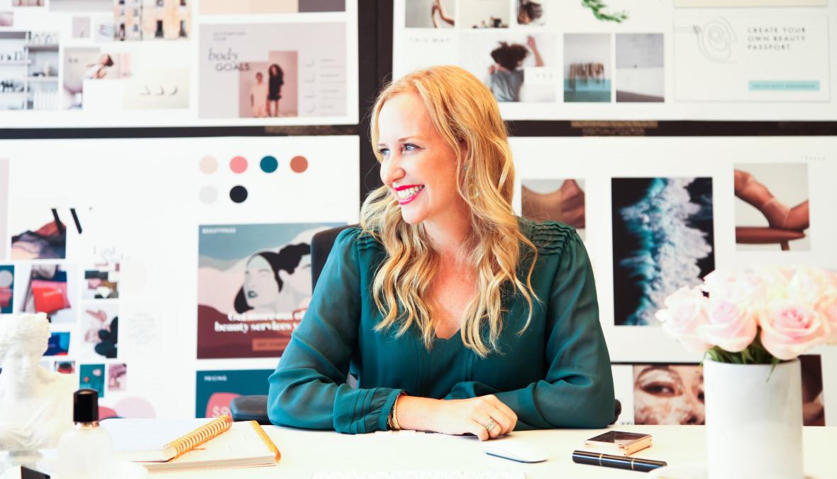 Značka vyrábějící botox cílí na mileniály pomocí webové stránky o estetice