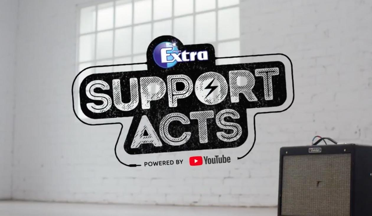 Žvýkačky Extra pomáhají hudebníkům získat nové posluchače pomocí reklam na YouTube