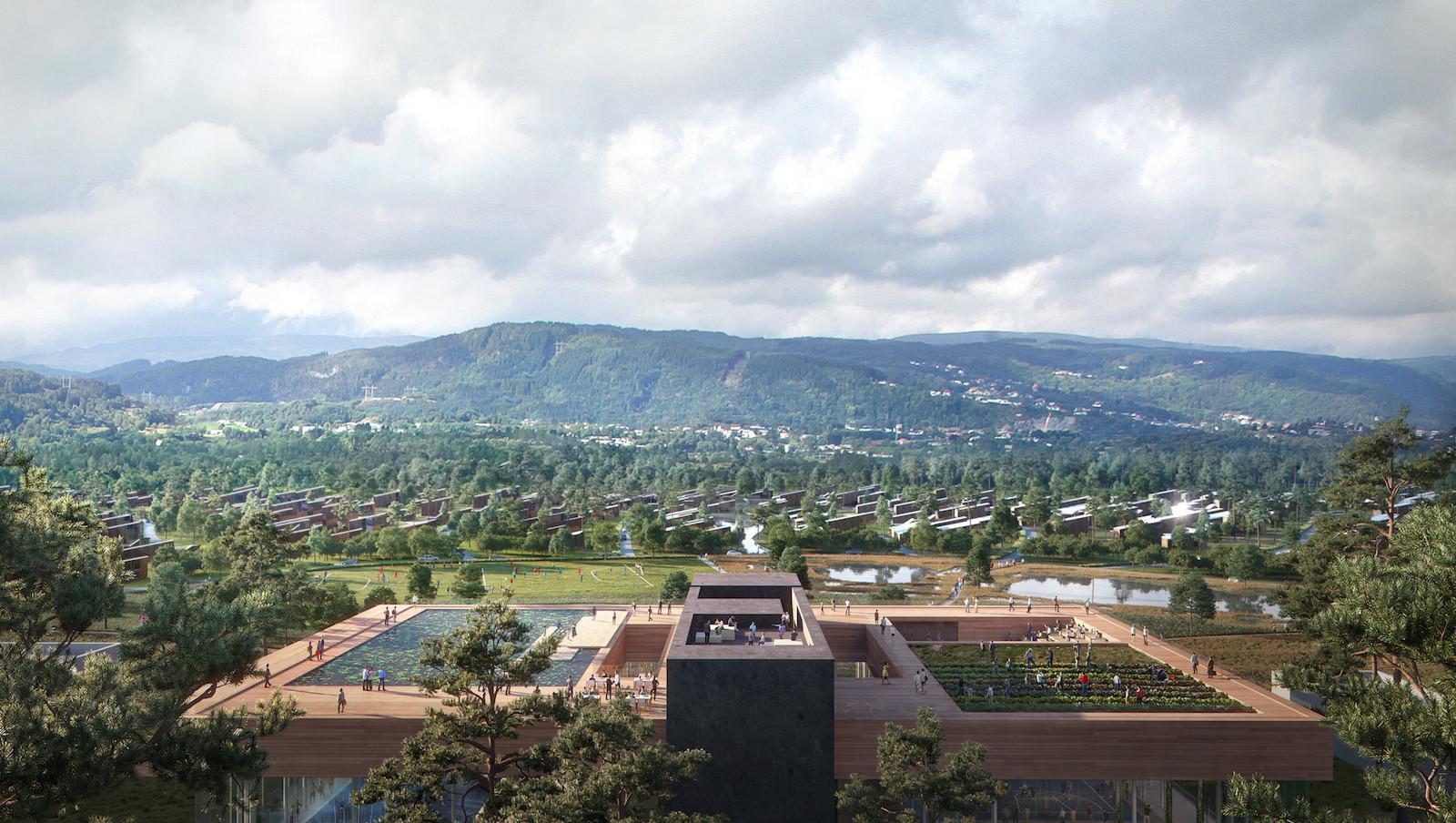Norské město Lyseparken bude vytápěno díky teplu z datového centra
