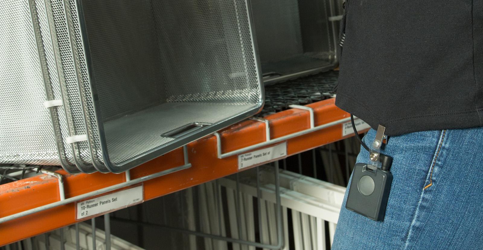 Wearable zařízení pomáhá zaměstnancům Container Store poskytovat lepší služby zákazníkům