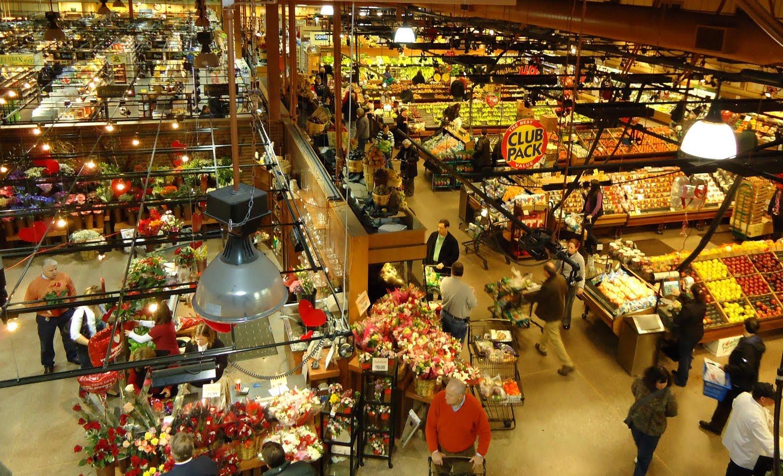 Supermarket Wegmans nabízí nevidomým mobilního průvodce po obchodě