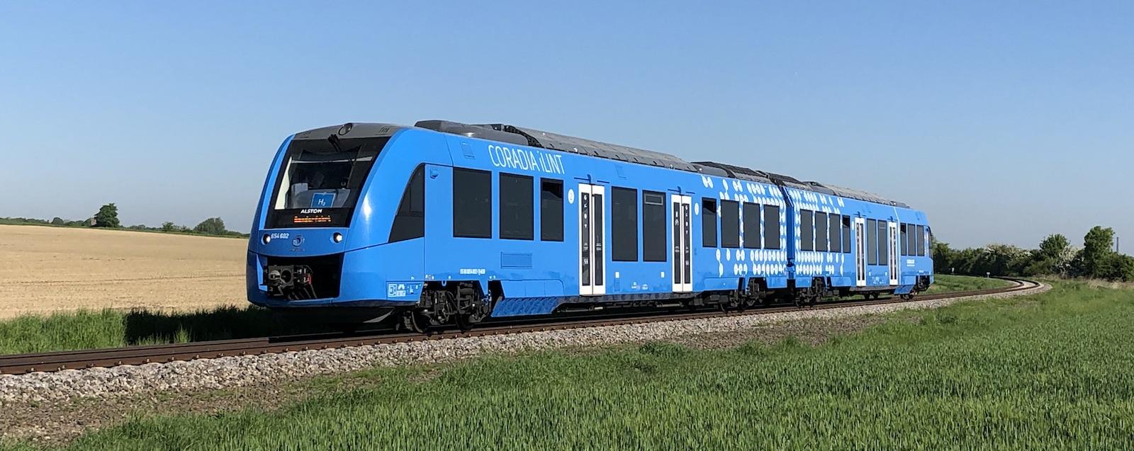 Společnost Alstom navrhla první vlak poháněný vodíkem
