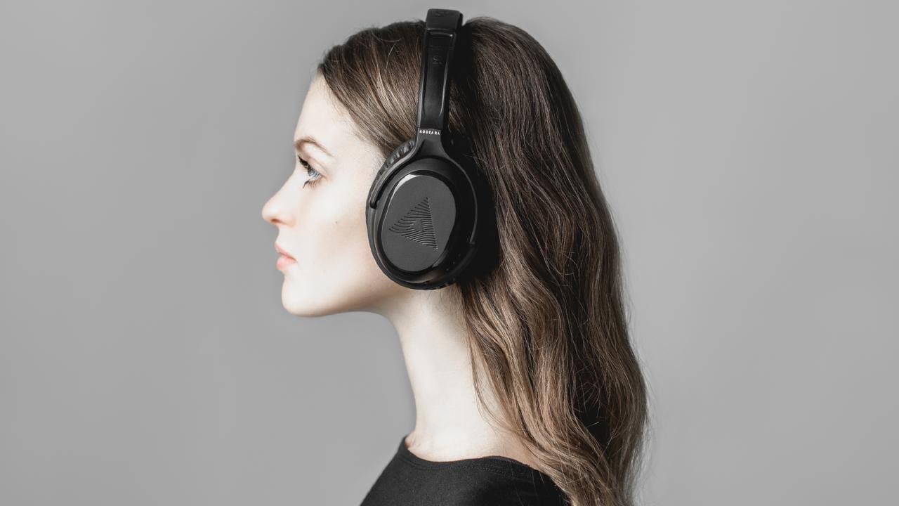Sluchátka Audeara A-01 mají v sobě zabudovaný test sluchu