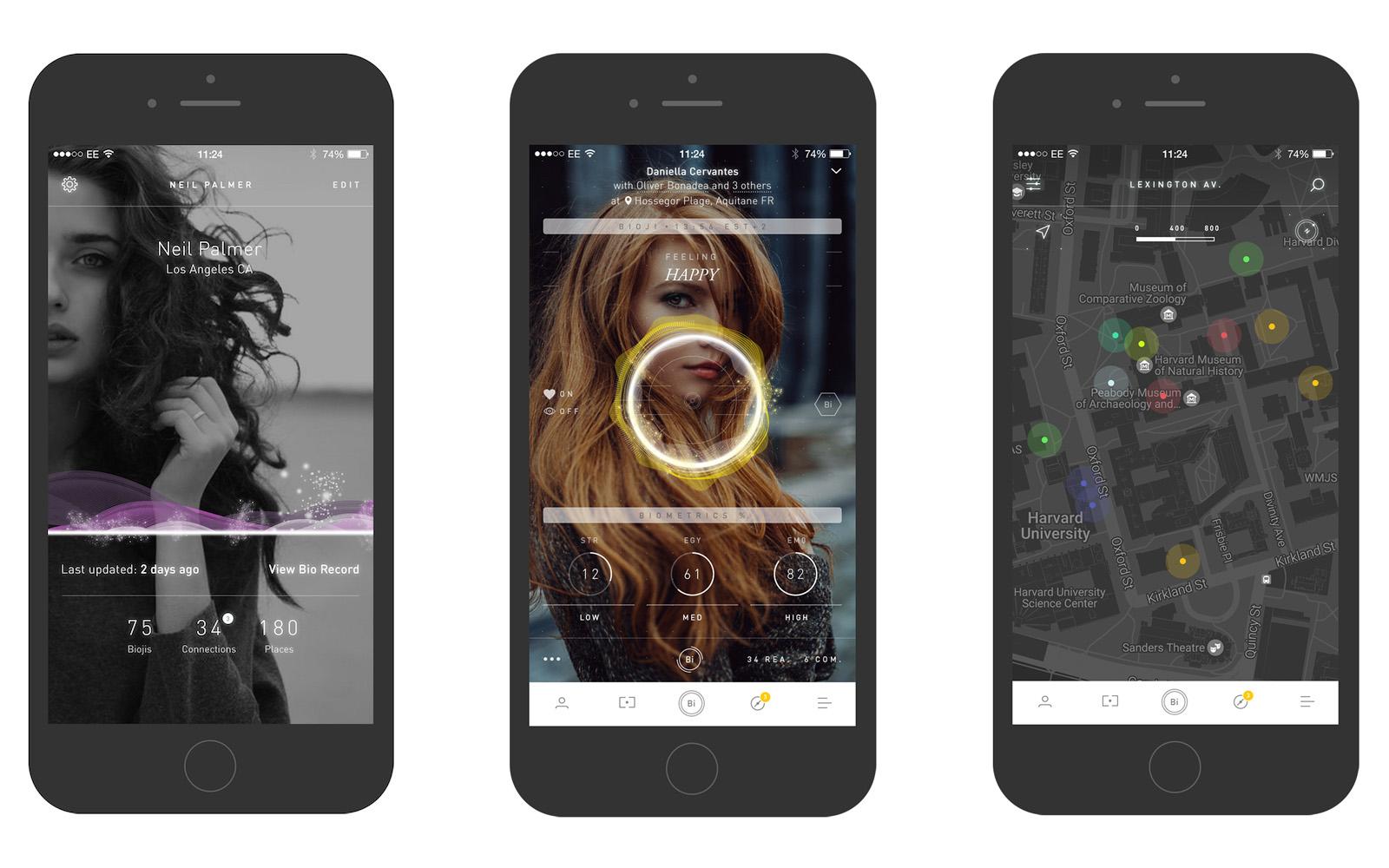 Aplikace BioSay dokáže měřit fyziologický stres pomocí chytrého telefonu