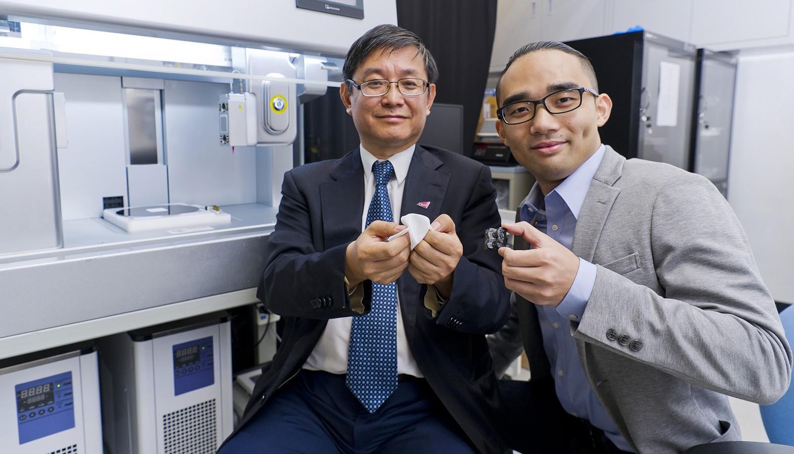 Vědci z Číny vyvinuli 4D tisk z keramických materiálů, které se mění