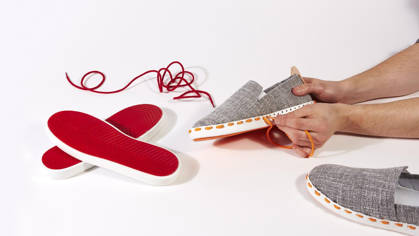 Tyto boty Layer si může každý navrhnout a opravit sám