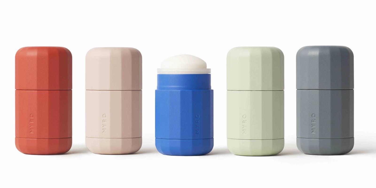 Ekologický přírodní deodorant Myro nabízí recyklovatelné náplně
