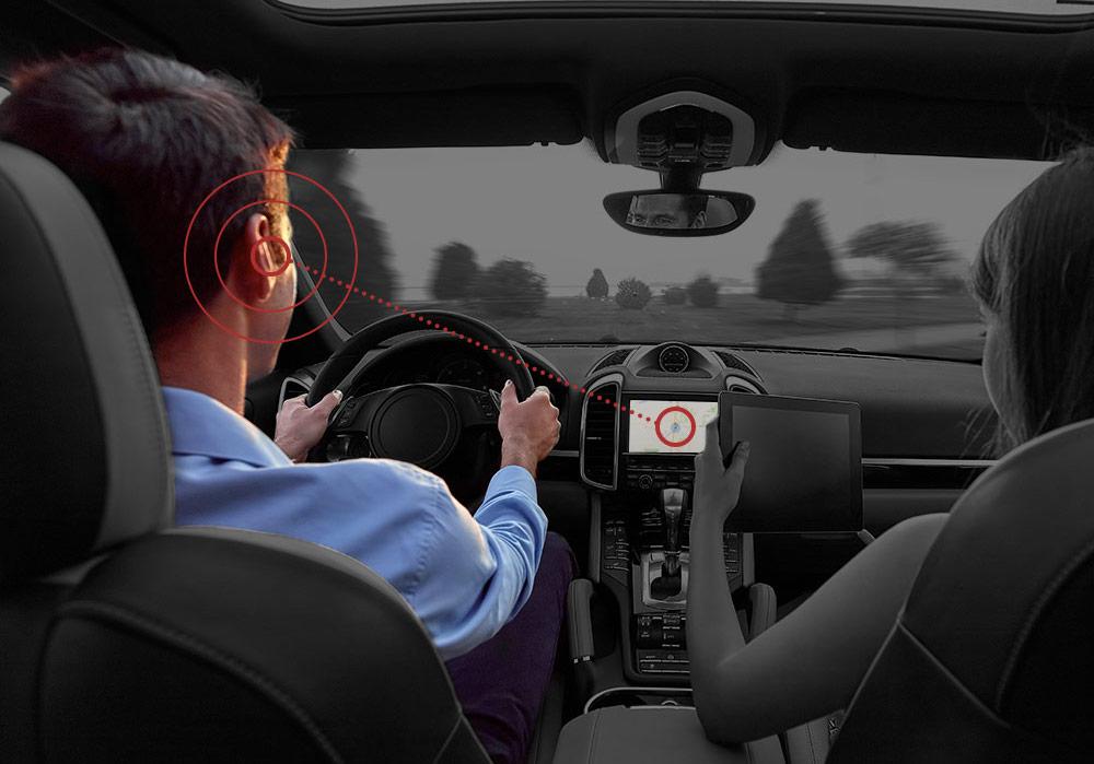 Noveto a Seat nabídnou přenos zvukových vln z jakéhokoli zařízení přímo do uší posluchače