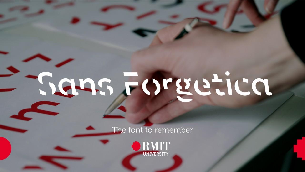 Výzkumníci přišli sfontem Sans Forgetica, se kterým si lépe zapamatujete text