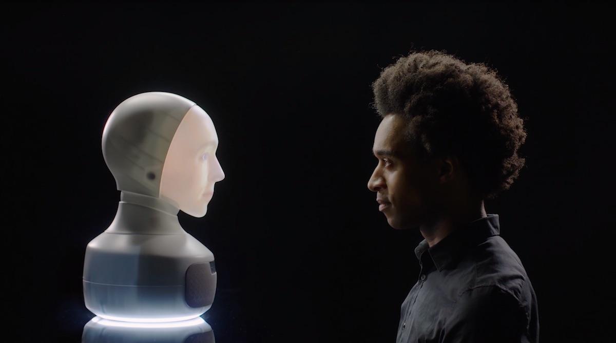 Pokročilý sociální robot Furhat používá ke konverzaci umělou inteligenci