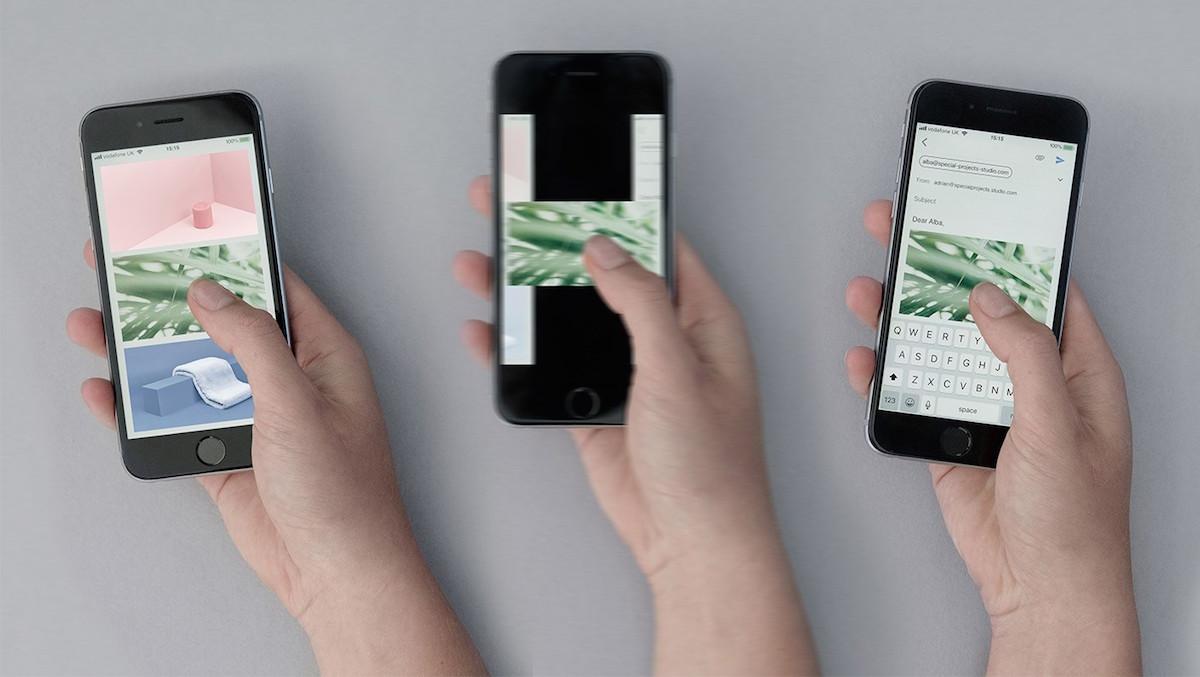 Koncept Magic UX vytváří digitální kancelářský prostor pro chytré telefony