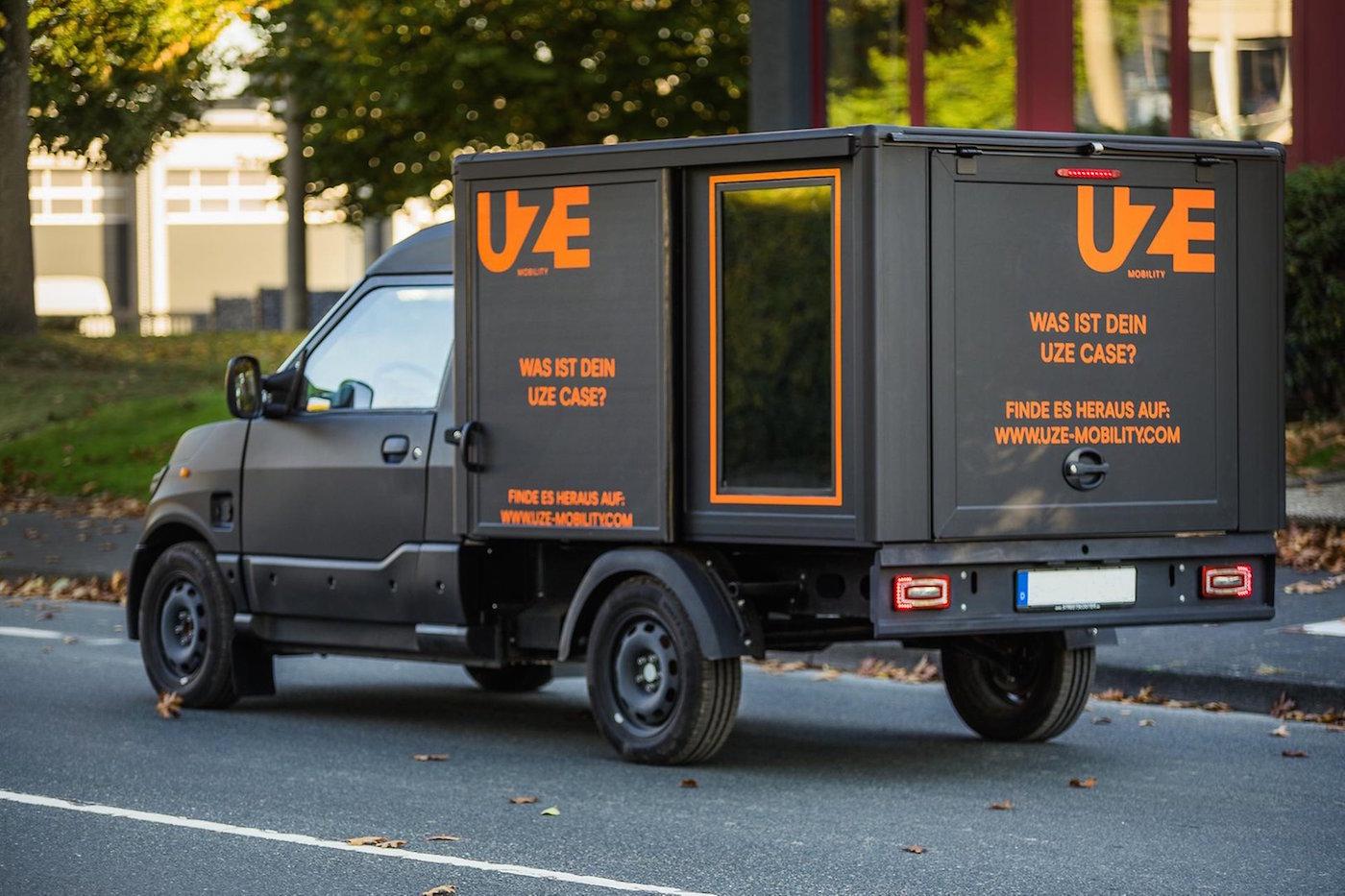 Německý startup UZE nabízí bezplatnou půjčovnu elektrických dodávek