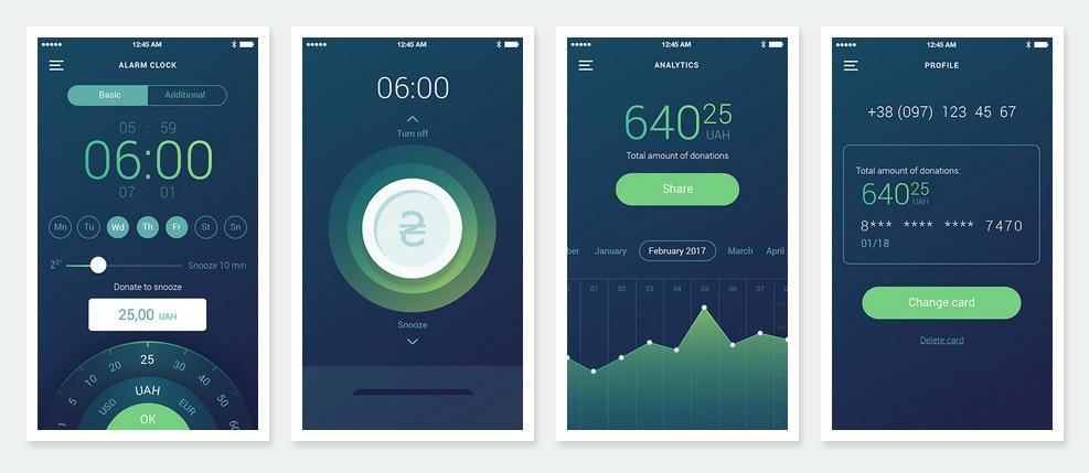 Aplikace Wake App in Peace pomáhá vybírat peníze pro ukrajinskou armádu