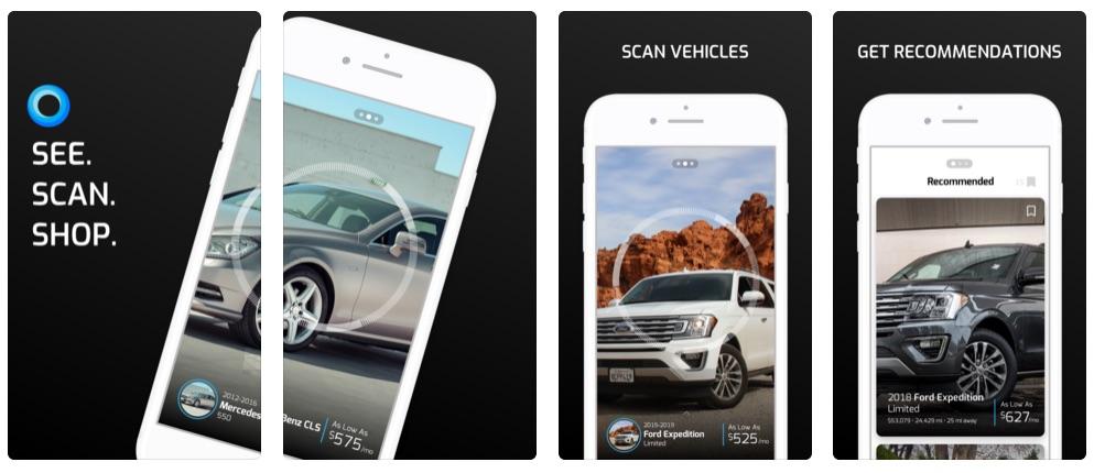 Aplikace CarStory Vision umožňuje první vizuální vyhledávání aut