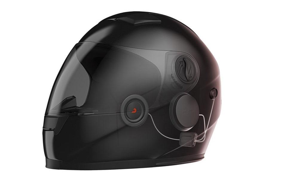 Technologie DAAL dokáže potlačit hluk větru při jízdě na motorce