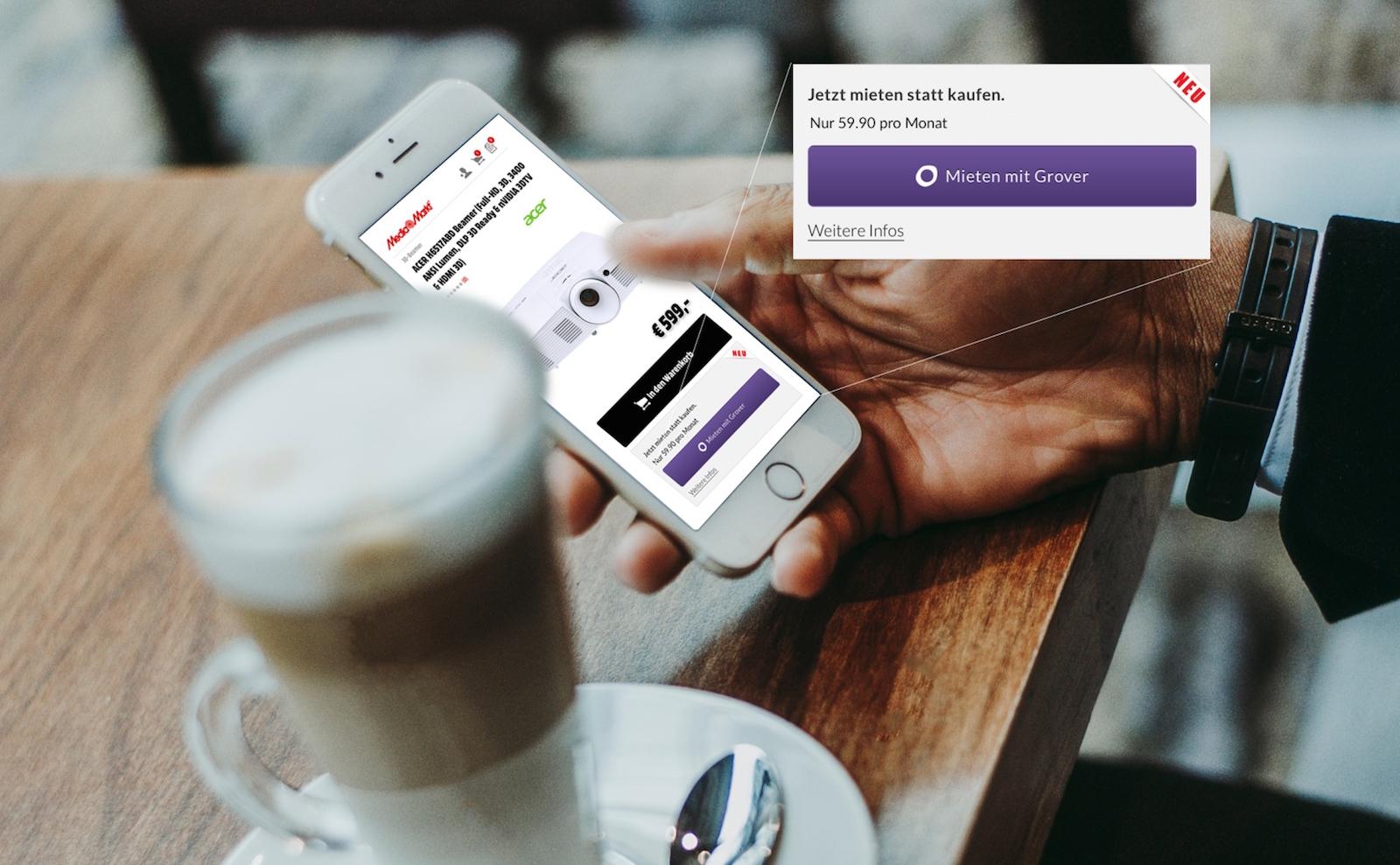 Startup Grover nabízí zákazníkům flexibilní pronájem elektroniky