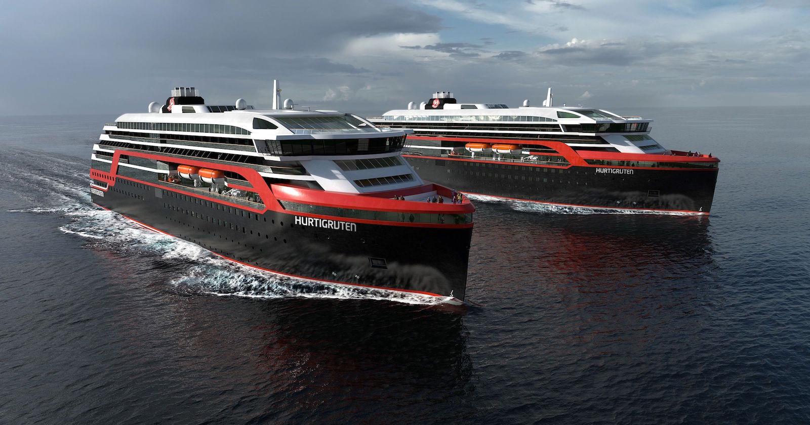 Výletní lodě společnosti Hurtigruten používají zbytky ryb jako palivo