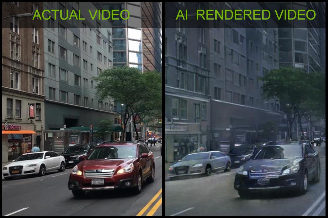 Společnost NVIDIA vyrobila interaktivní grafickou kartu s umělou inteligencí