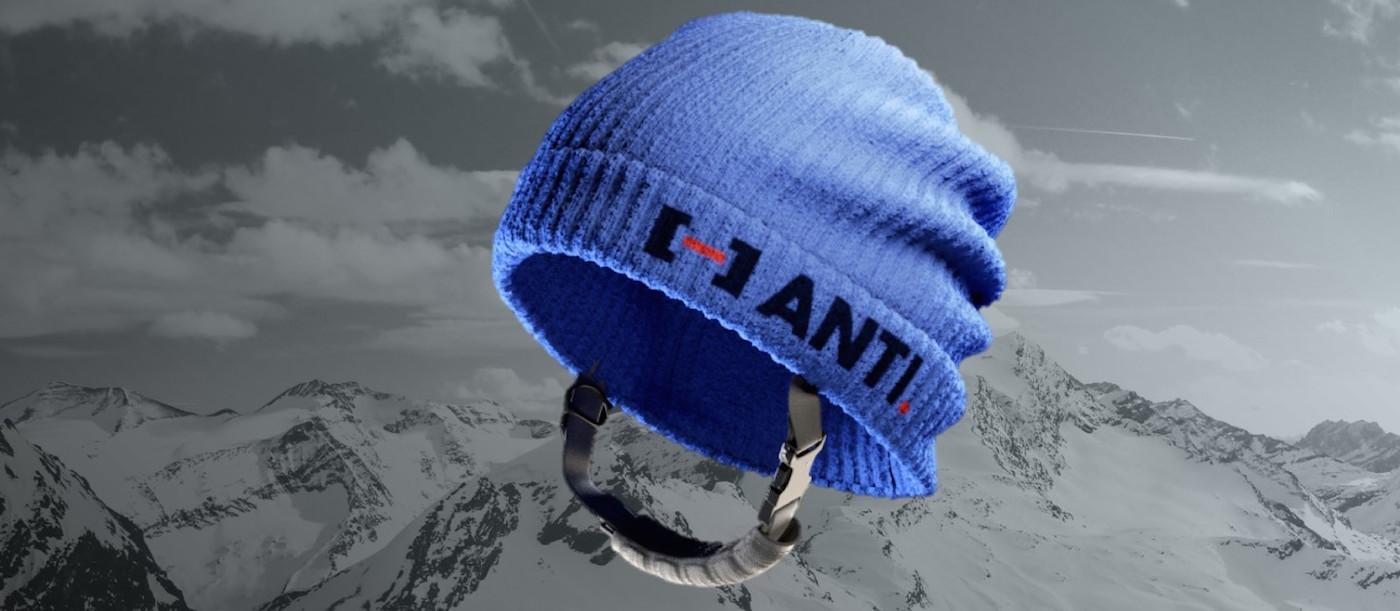 Tato čepice ve skutečnosti dokáže ochránit lyžaře při nárazu do hlavy