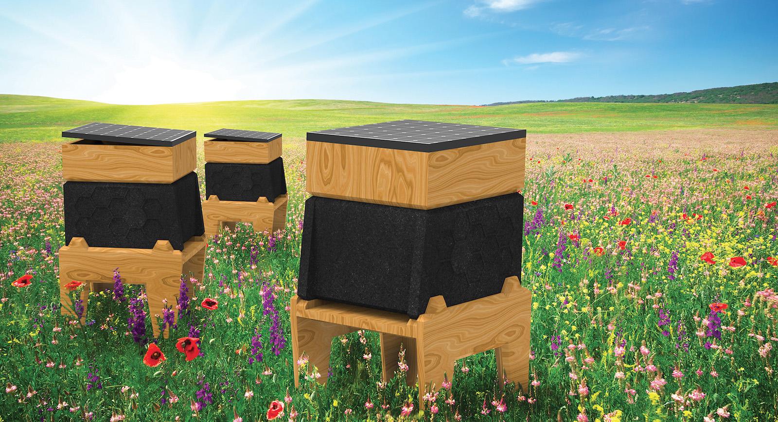 Včelí úl CoCoon dokáže ochránit včely od parazitů