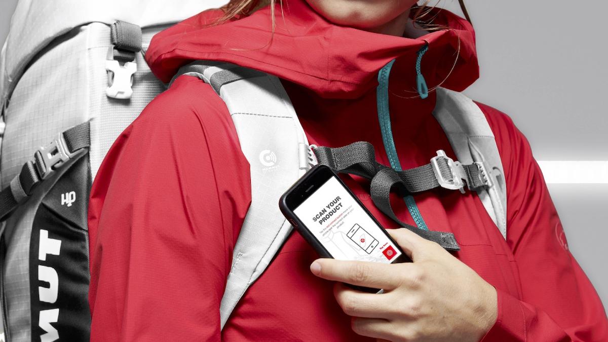 Výrobce outdoorového oblečení Mammut používá NFC technologii k digitalizaci produktů