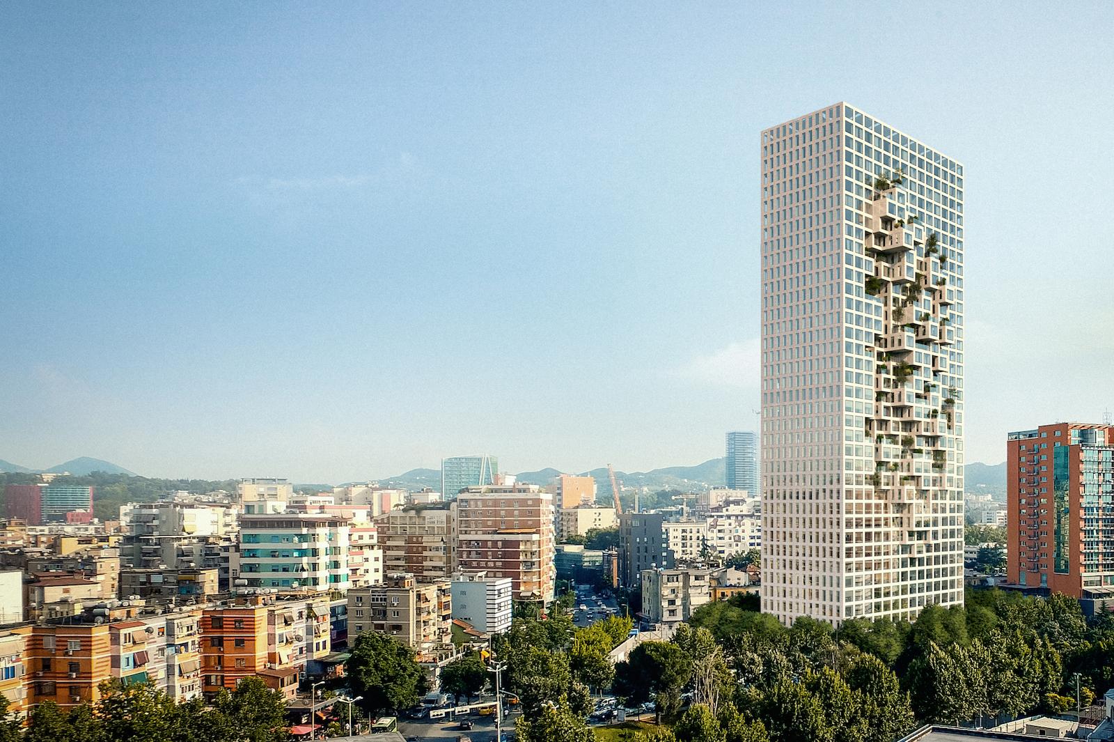 Albánie plánuje postavit mrakodrap k povzbuzení cestovního ruchu