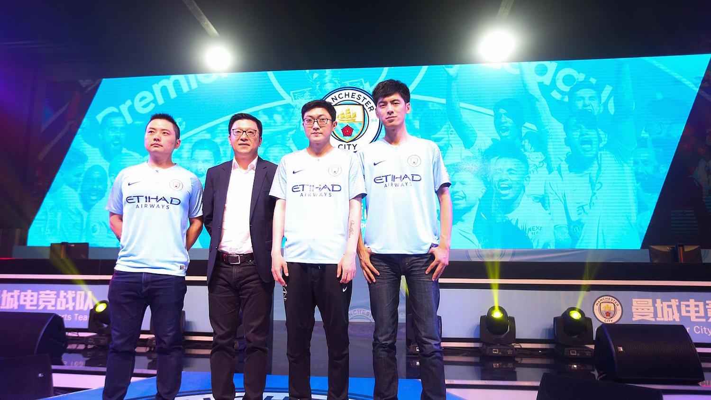 Fotbalový tým Manchester City oslovil fanoušky z Číny pomocí vlastního eSport týmu