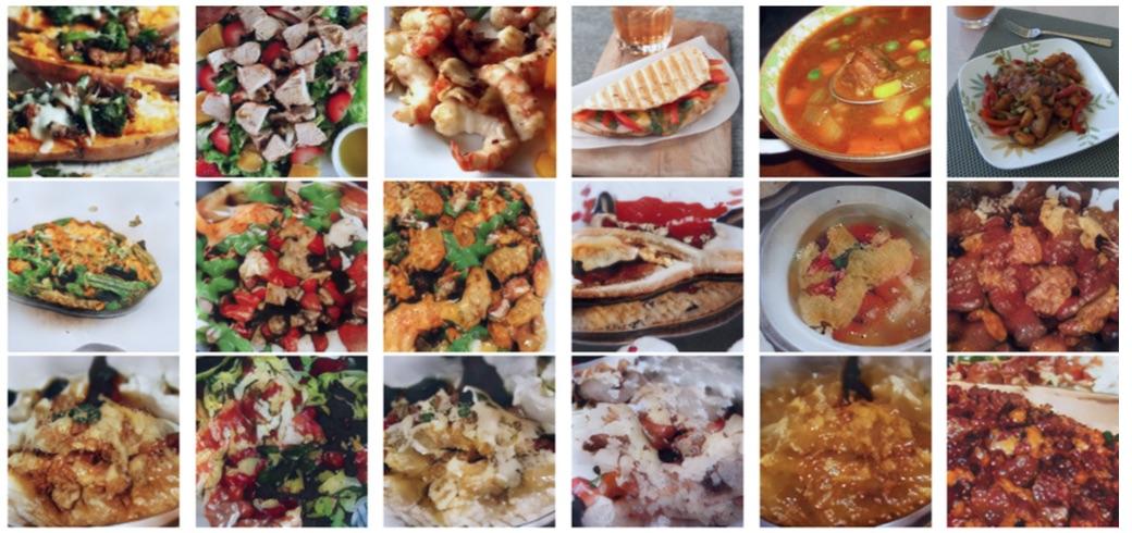 Umělá inteligence dokáže vytvořit obrázek jídla na základě napsaného receptu