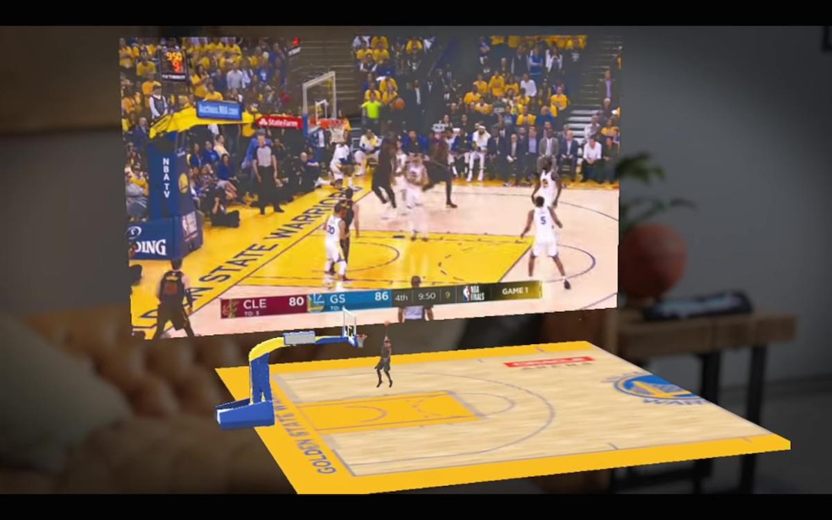 Magic Leap ve spolupráci NBA nabízí rozšířený obsah během zápasů