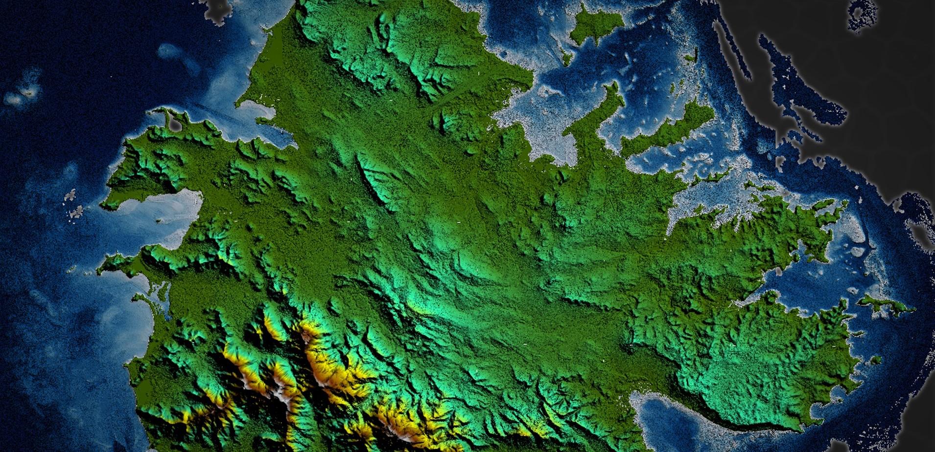 Společnost TCarta dokáže mapovat dno moře pomocí satelitních snímků