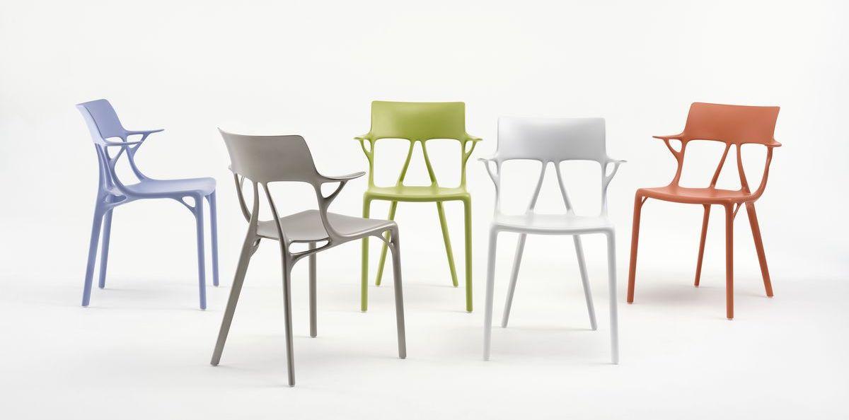 Francouzský designér Phillipe Starck využil algoritmus k navržení nábytku