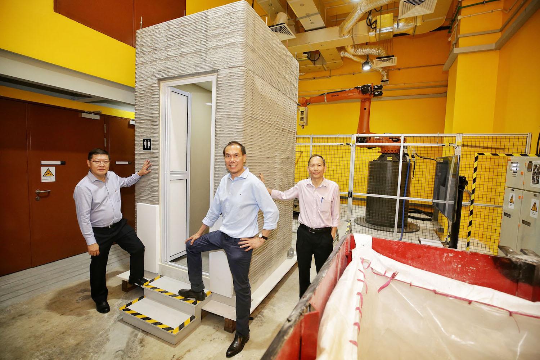 Vědci dokáží postavit koupelnu během několika hodin pomocí 3D tisku
