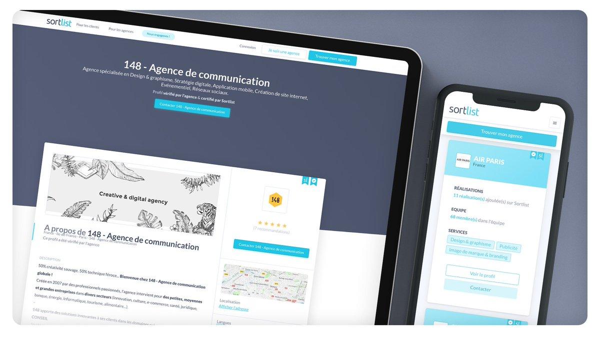 Startup Sortlist slouží jako dohazovač pro společnosti a reklamní agentury