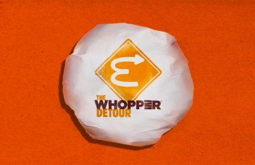 Kampaň Whopper Detour si odnáší Grand Prix Titanium