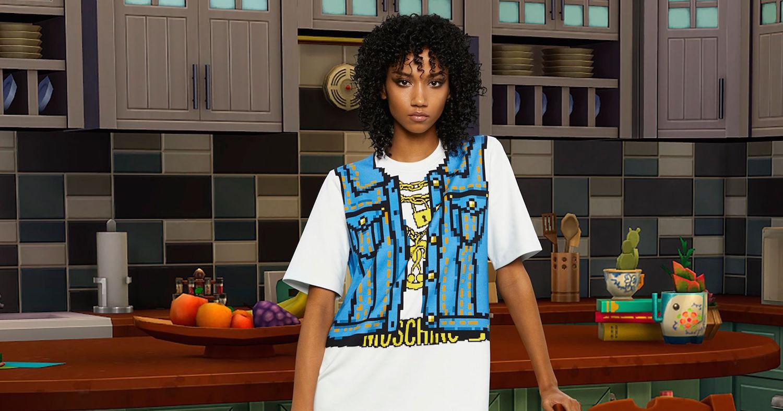 Módní značka Moschino navrhla kolekci inspirovanou počítačovou hrou The Sims
