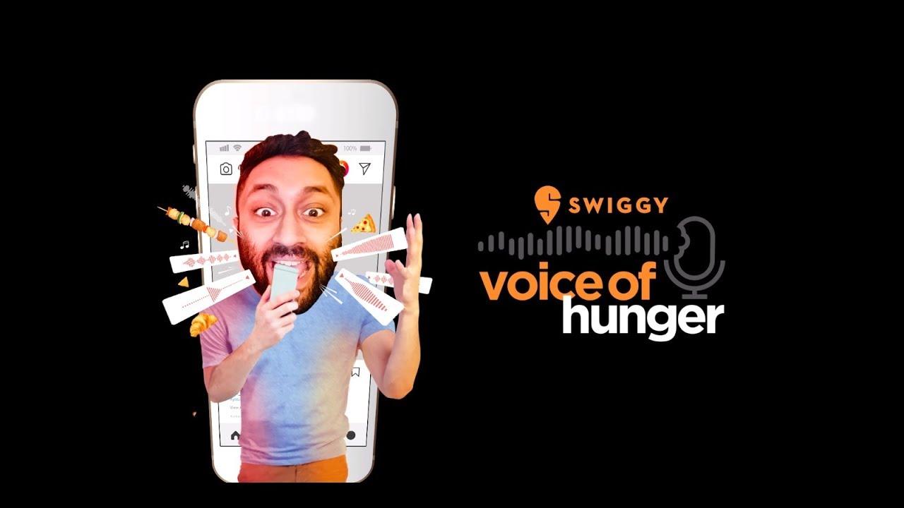 Platforma Swiggy vyzvala uživatele, aby vytvářeli tvary jídel pomocí hlasových zpráv na Instagramu