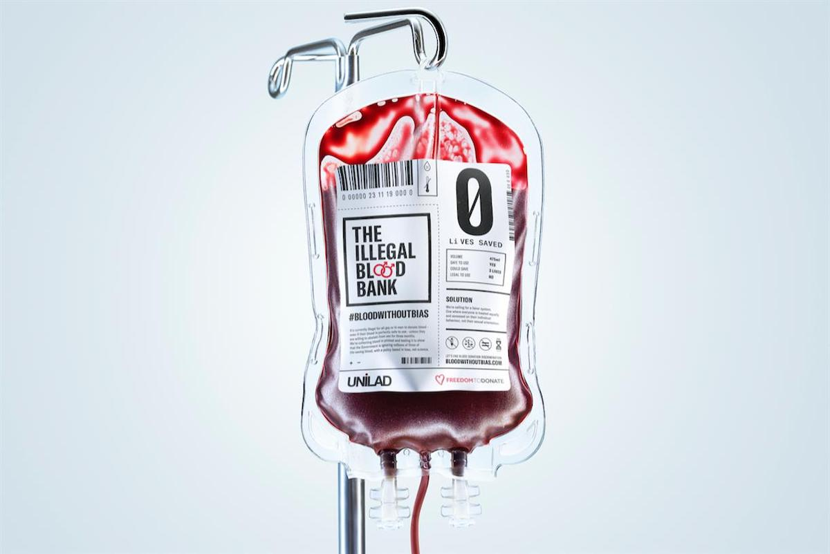 Ilegální krevní banka pro homosexuální a bisexuální muže upozorňuje na nesmyslný zákon