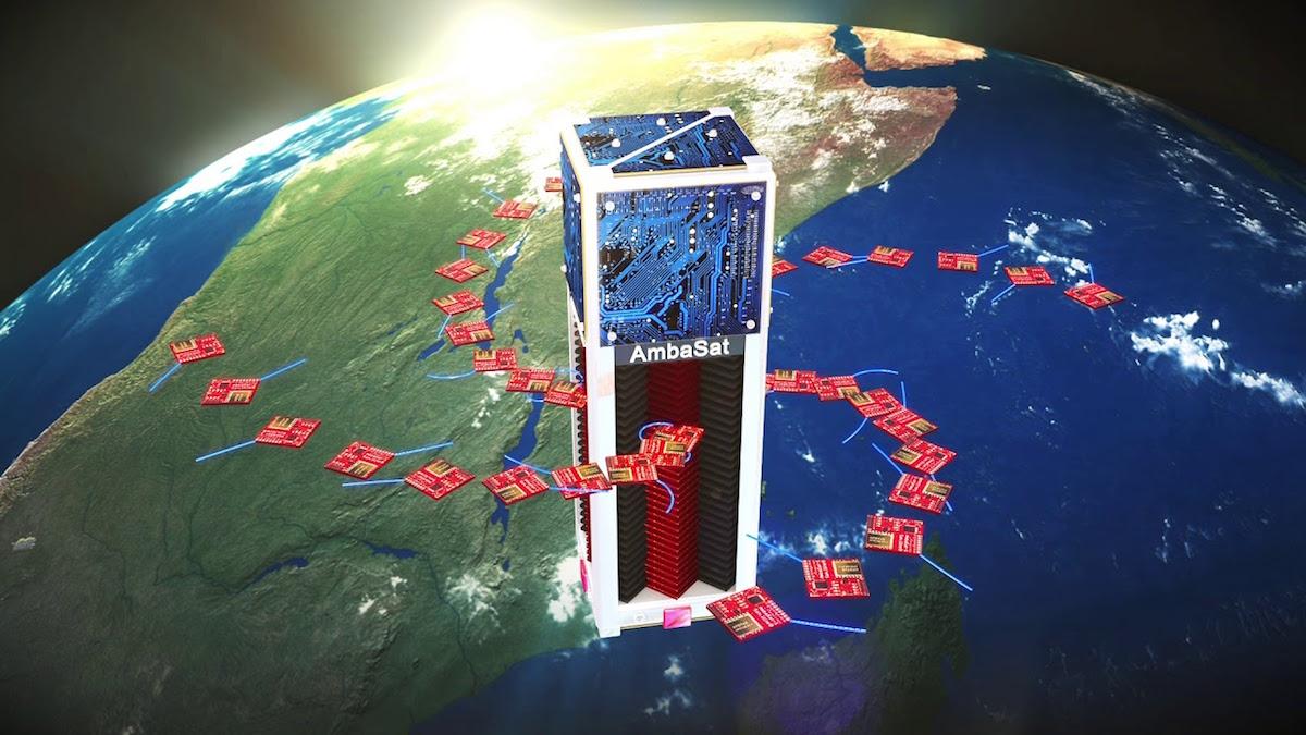 Sada AmbaSat-1 umožňuje komukoliv si postavit vlastní vesmírný satelit