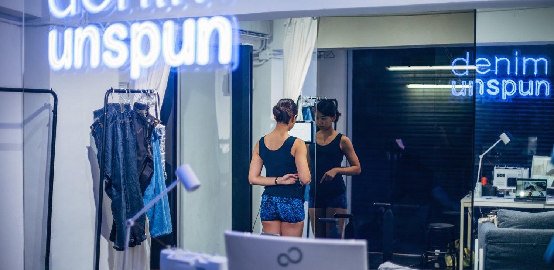 Unspun využívá UI a 3D skenování k vytvoření udržitelných džín