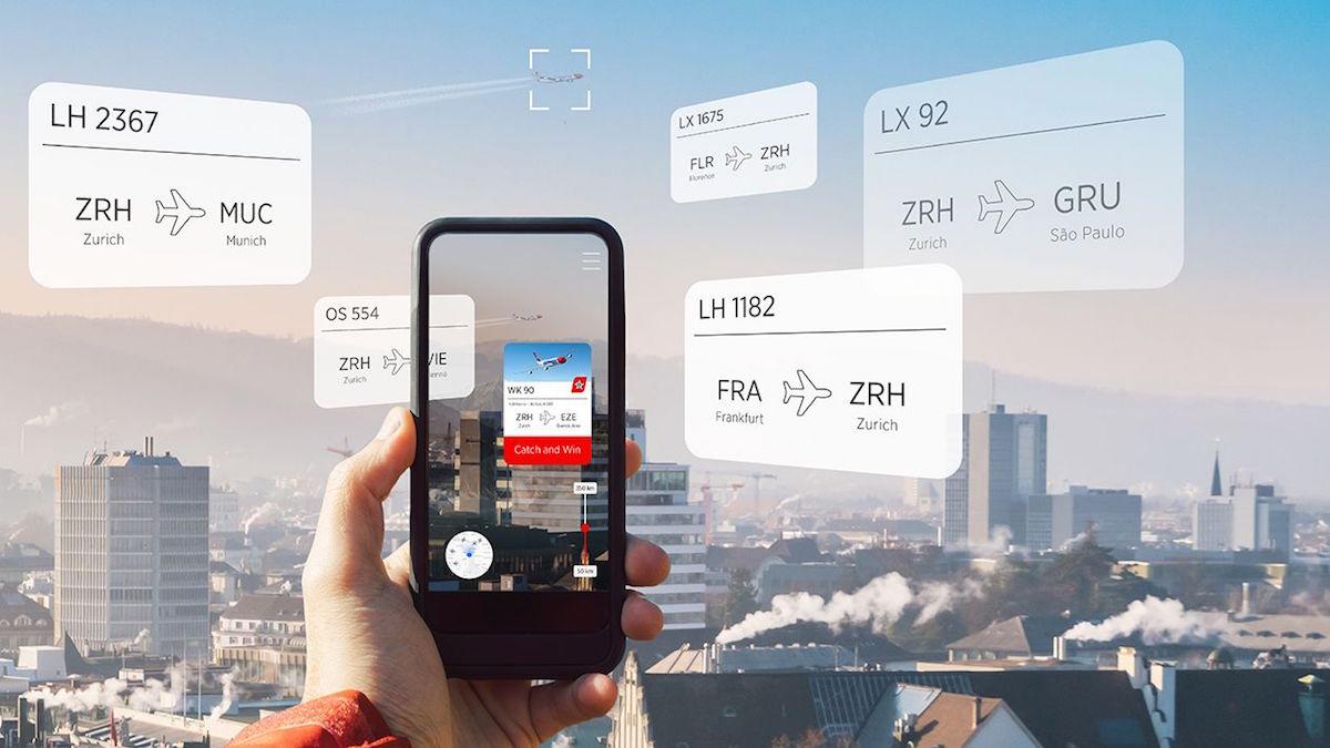 Letecká společnost Edelweiss nabízí letenky zdarma pomocí AR hry