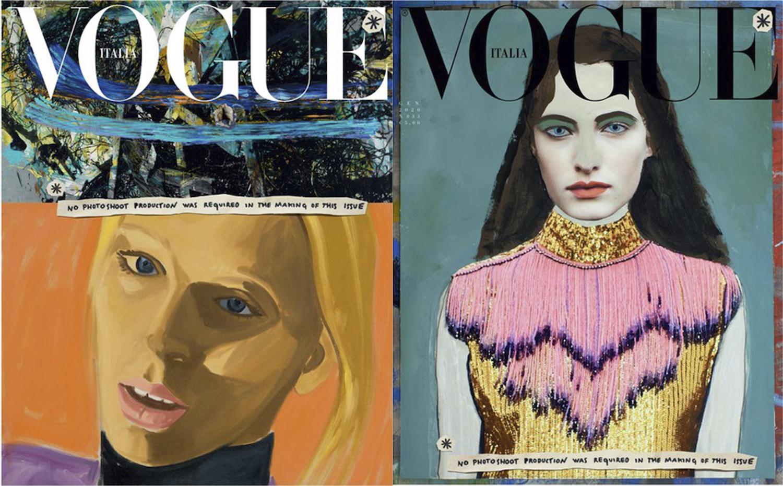 Italský Vogue nahradil fotografie ilustracemi kvůli udržitelnějšímu přístupu