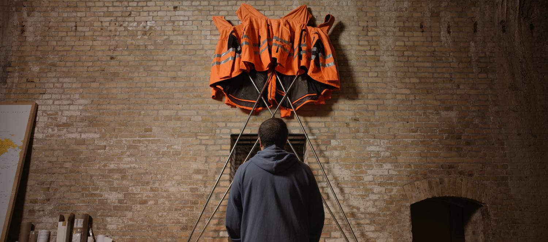 Aj Wej-wej vytvořil umělecké dílo z materiálů získaných v Hornbachu