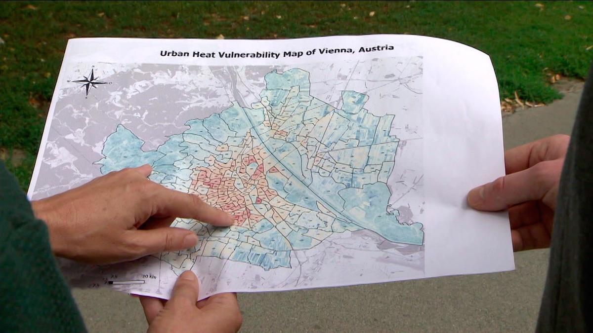 Český startup Ecoten vytváří mapy měst, aby odhalil místa ohrožená stoupajícím teplotám